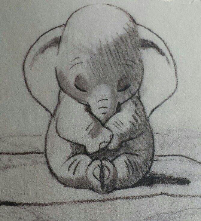 Epingle Par Olfa Sur 1er Tableau Dessin Elephant
