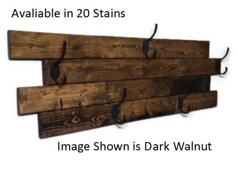 This Recycled Wood Wall Mount Coat Rack Is What Your Entryway Mudroom Hallway Laundry Room Or Bathroom Has Diy Coat Rack Rustic Coat Rack Hanging Coat Rack