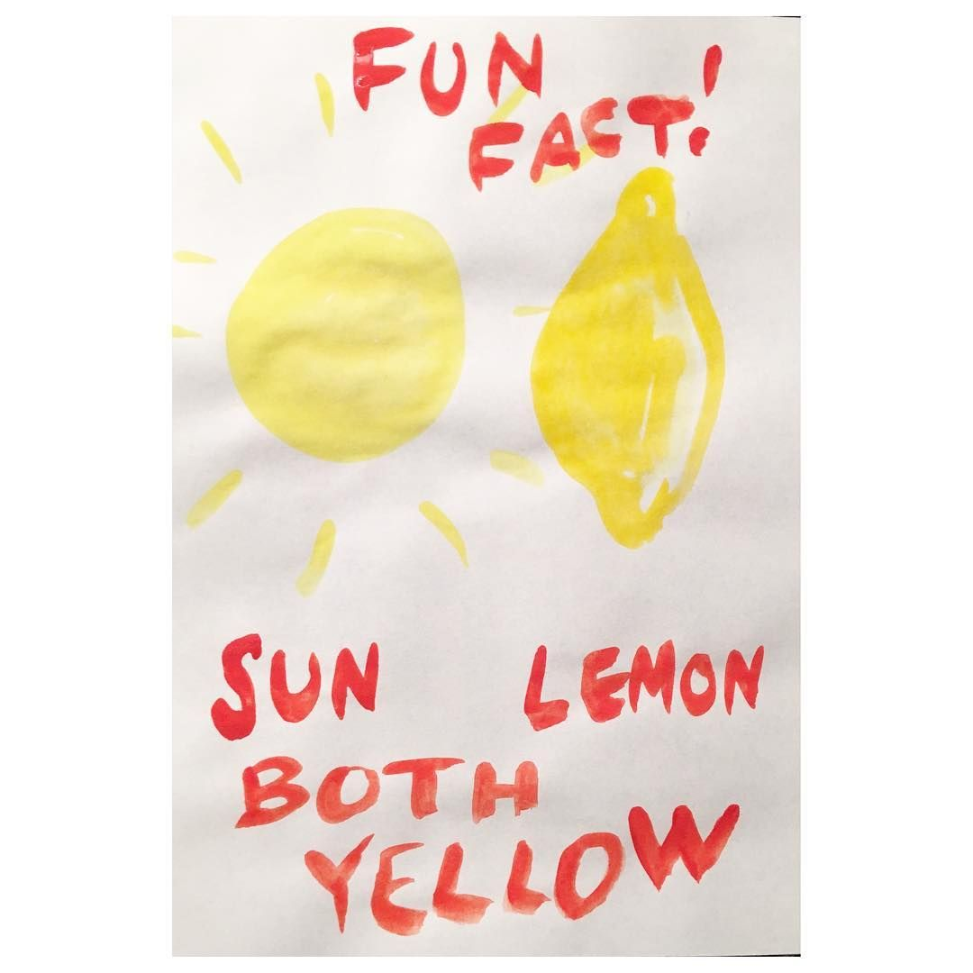 Sucker for yellow. And lemons. And sun. So there. #yellow #sun #lemons #funfact #watercolor #artlovers #studiopic #deep #liveauthentic #creativetip #didyouknow #meetthemoment #emmapilipon #badjobbook