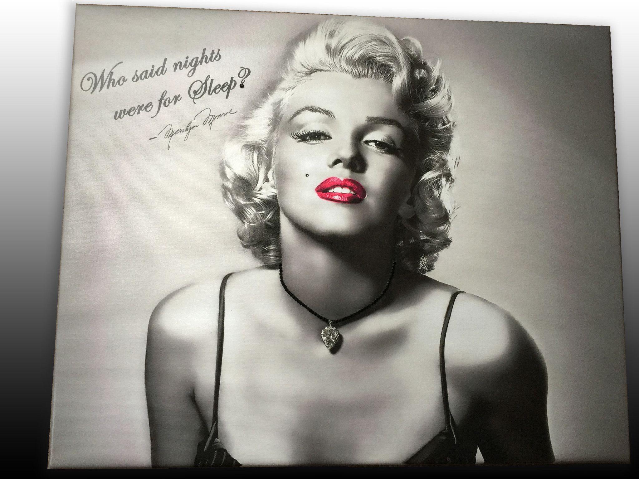 Marilyn Monroe Canvas Print Art