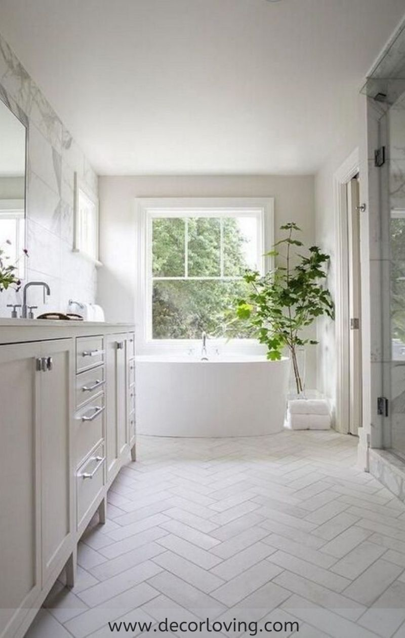 The Best Bathroom Flooring Ideas On A Budget Modern Kitchen Tile