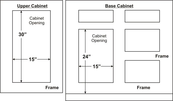 Kitchen Cabinet Refacing Terminology Manual Guide