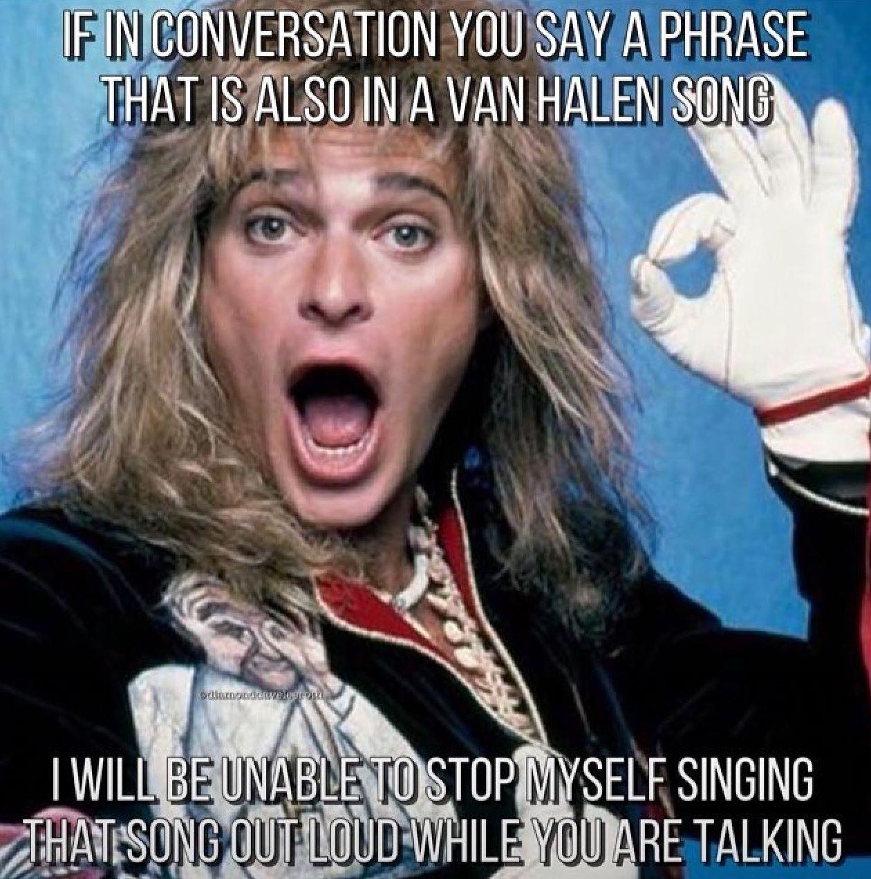 This Is True Van Halen Lyrics Van Halen David Lee Roth
