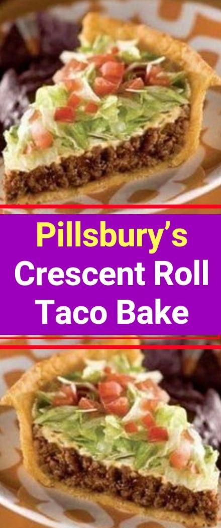 Pillsbury S Crescent Roll Taco Bake To Make This Recipe