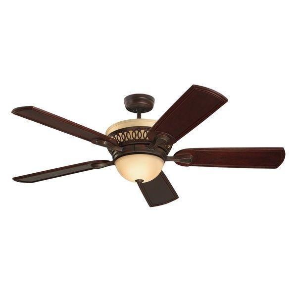 $469 Emerson Braddock 54-inch Venetian Bronze Modern Ceiling Fan
