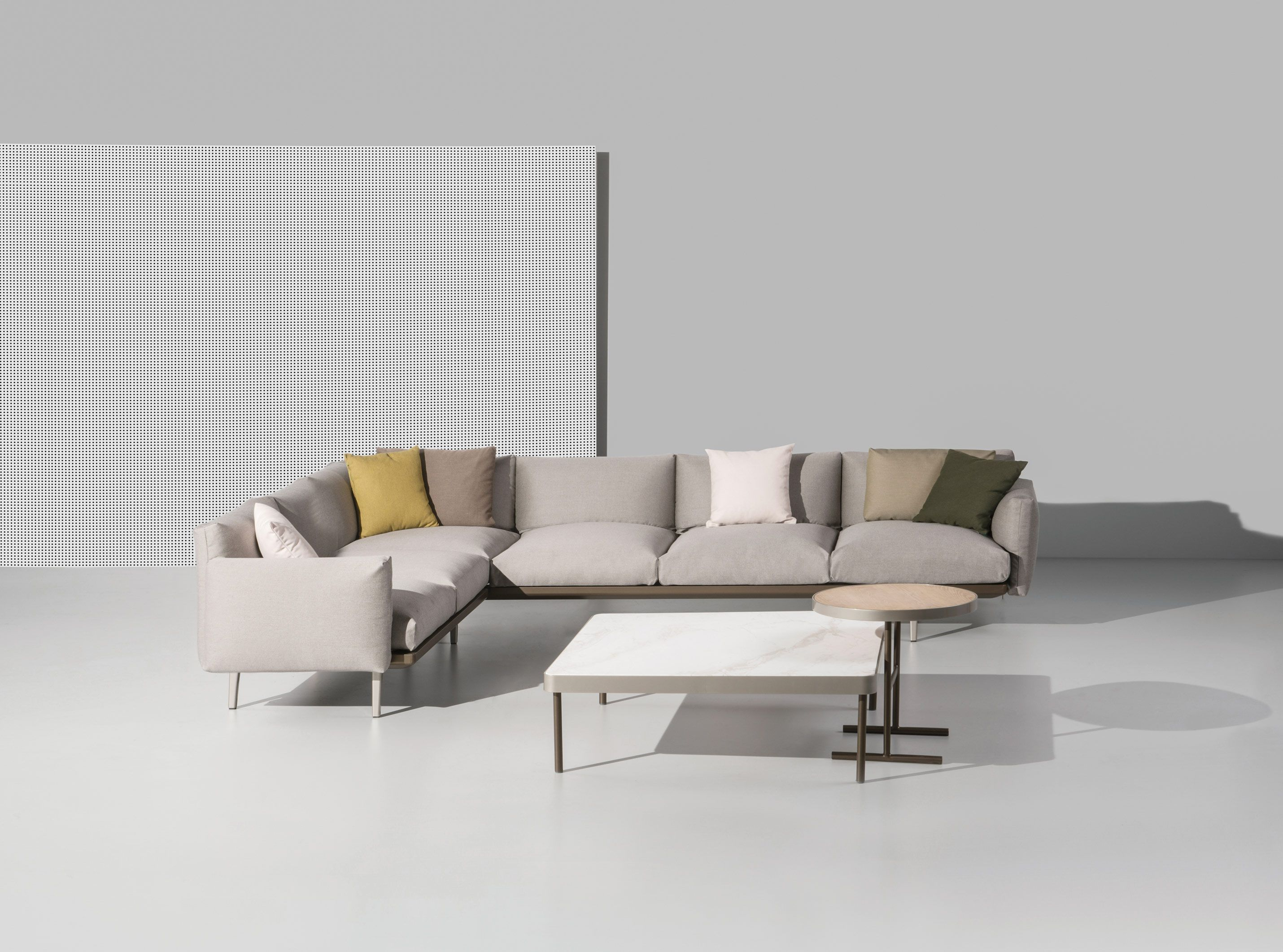 "Kettal | Boma | Right Corner 2-seater ""end"" 