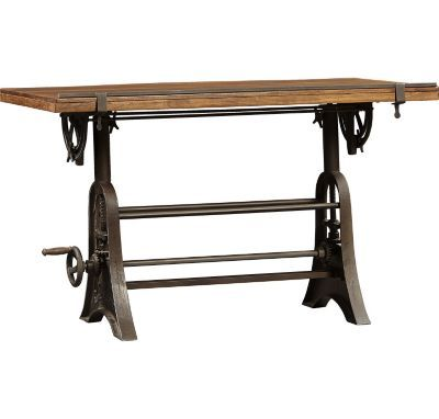 Home Offices, River City Drafting Table, Home Offices | Havertys Furniture