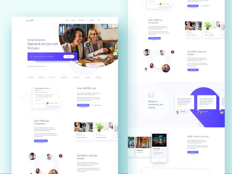 Get your Job Done Design inspiration, Design, Web design