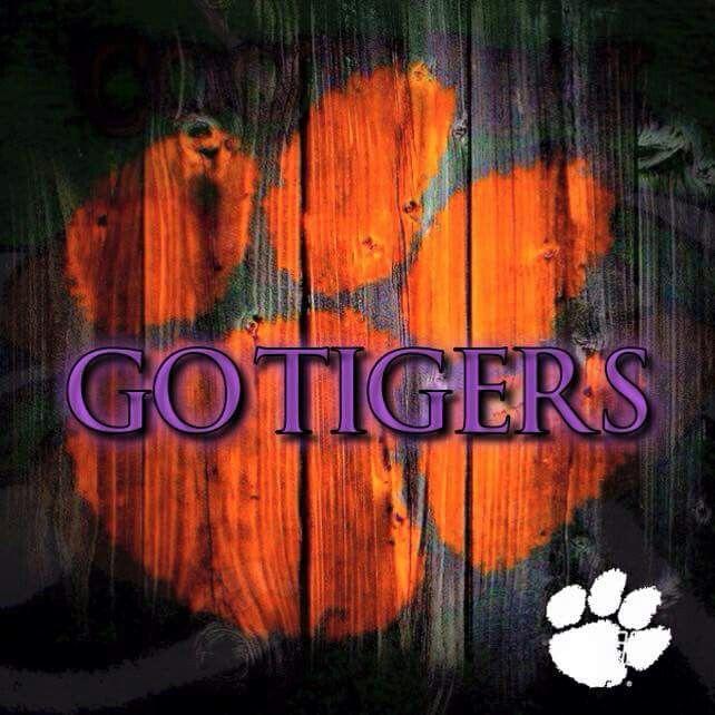 Clemson Go Tigers Clemson Tigers Football Clemson Tigers Decor Clemson