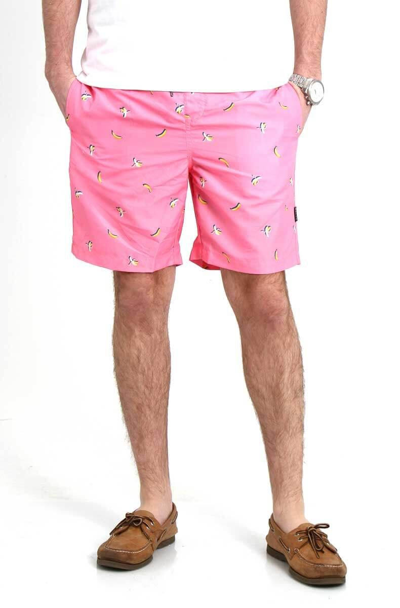 94136868b130c Brooklyn Cloth Banana Swim Shorts for Men in Pink BSM3905F-PINK ...