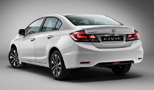 2018 Honda Civic Hybrid Rear View Concept Cars Group Pins Honda