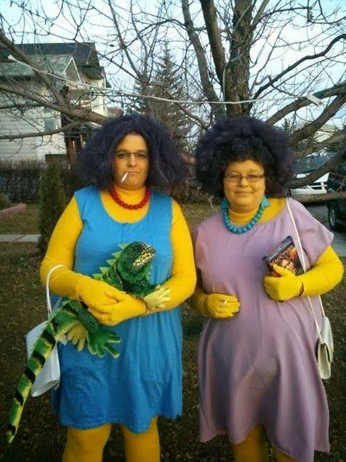marge simpsons sisters halloween costume - Simpson Halloween Costume