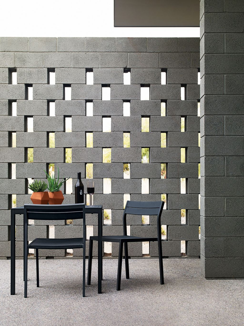 50 Breeze Block Wall Ideas Internal Walls Ought To Be Orientated To Permit For Cross Ventilation Breeze Block Wall Cinder Block Walls Brick Exterior House