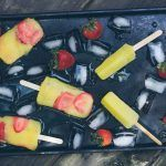 Mimosa Popsicle's #champagnepopsicles Anyone else ready for happy hour? Me too! #champagnepopsicles