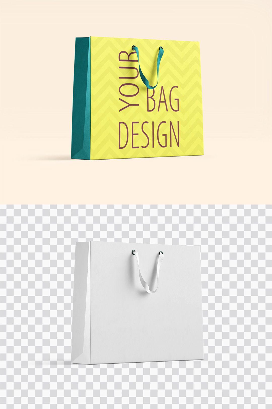 Free Shopping Paper Bag Mockup Bag Mockup Free Packaging Mockup Retail Store Design