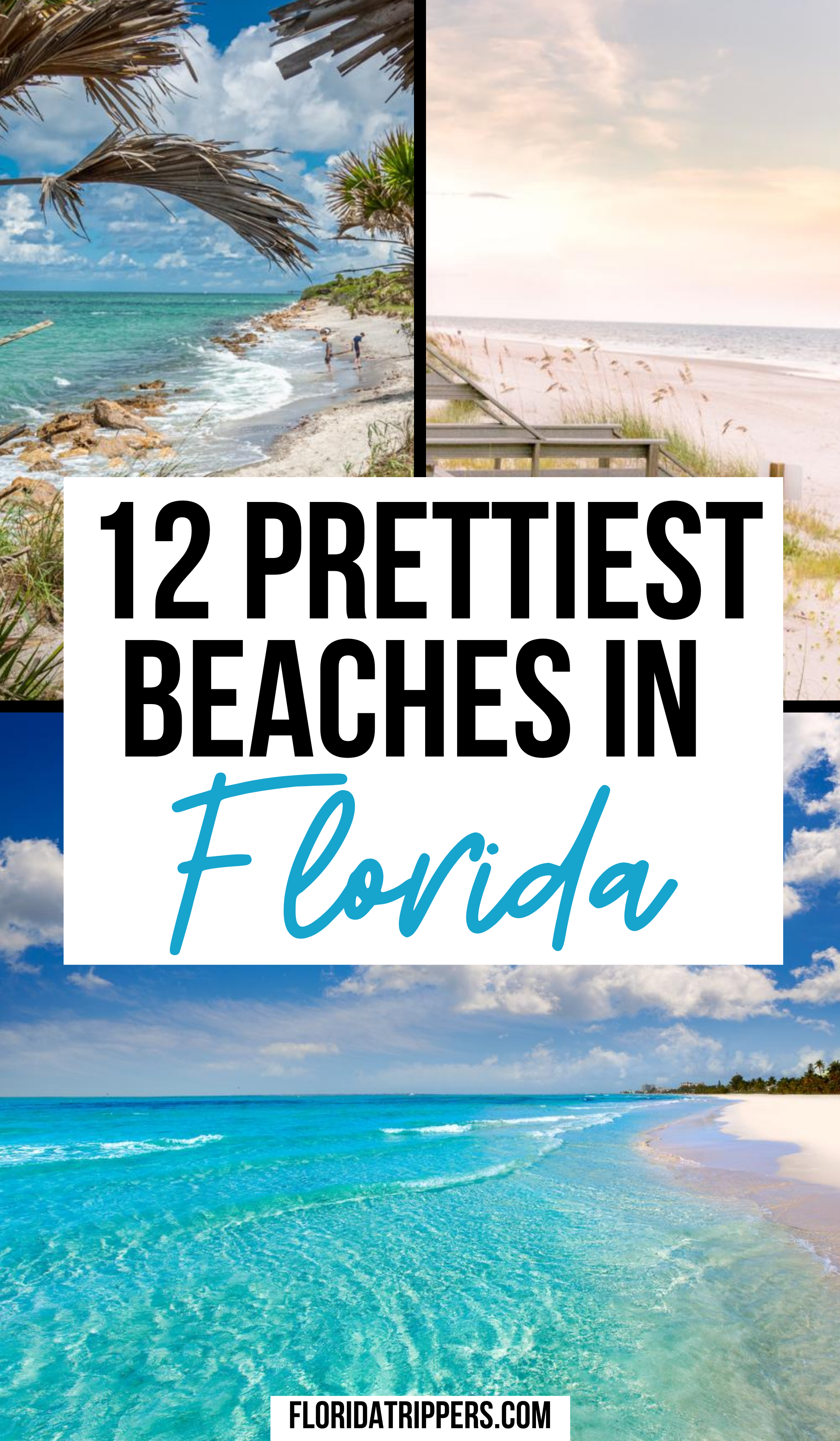 12 Prettiest Beaches In Florida To Seas The Day Travel Usa Best Beach In Florida Pretty Beach