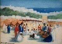 Tanger, Grand Socco by Hans Jacob Hansen