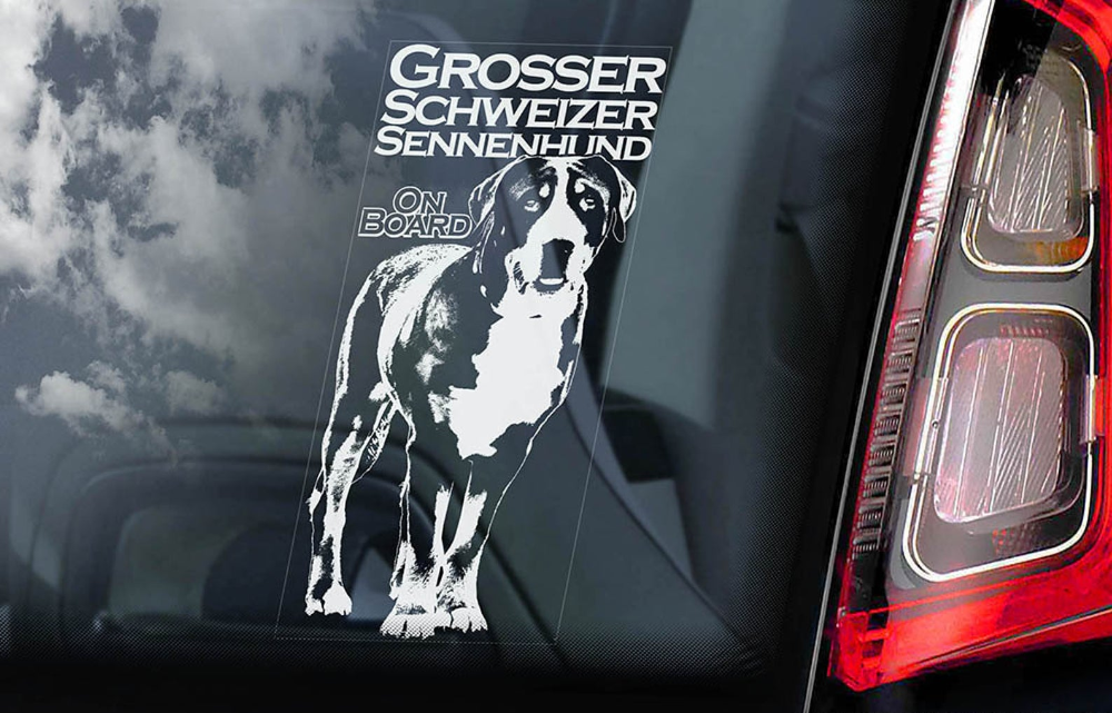Car Window Sticker Staffordshire Bull Terrier Dog on Board Sign Decal V01
