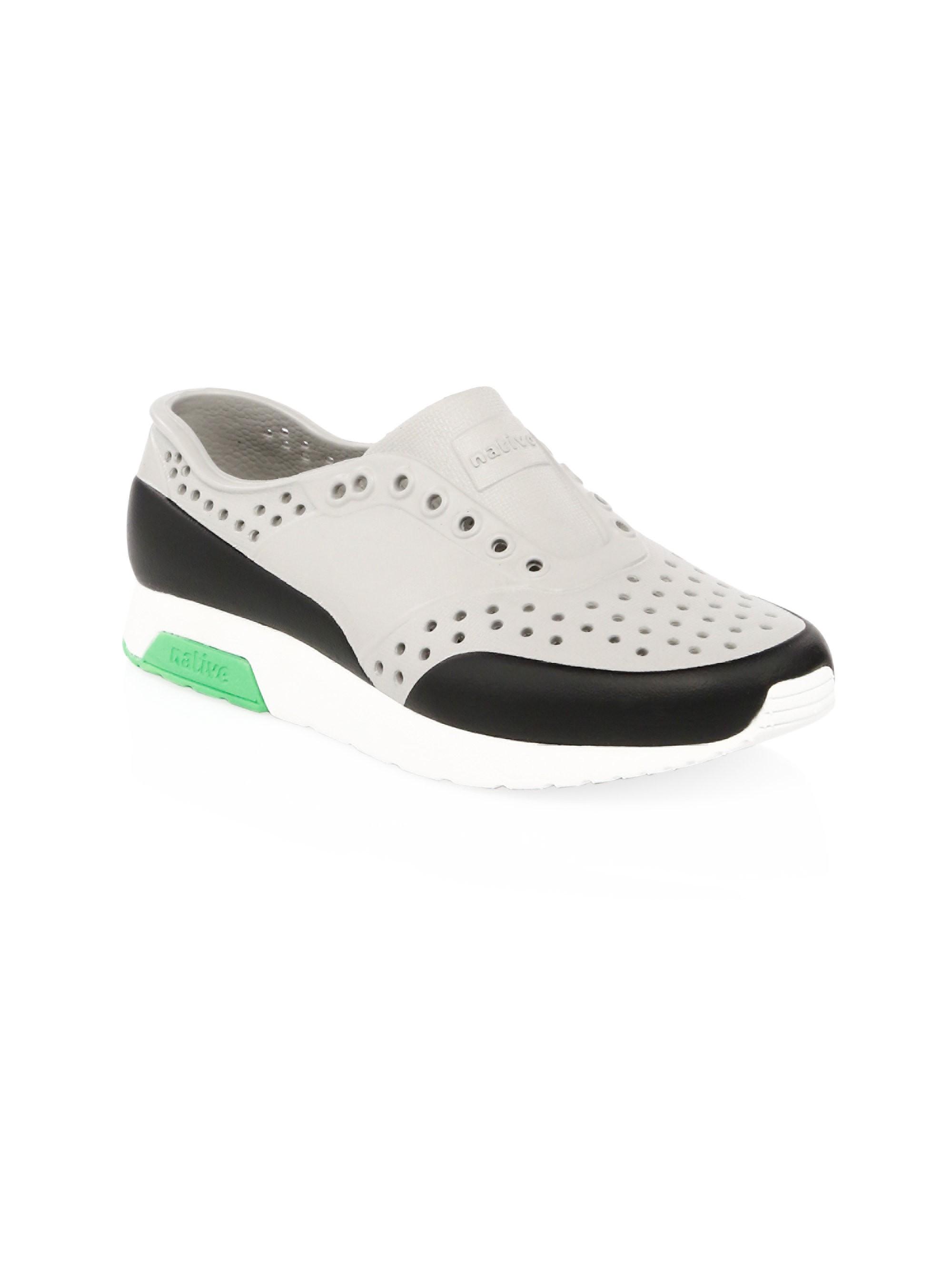 98ac9b60ff298 Native Shoes Kids Toddler's & Kid's Lennox Slip-On Sneakers - Grey ...