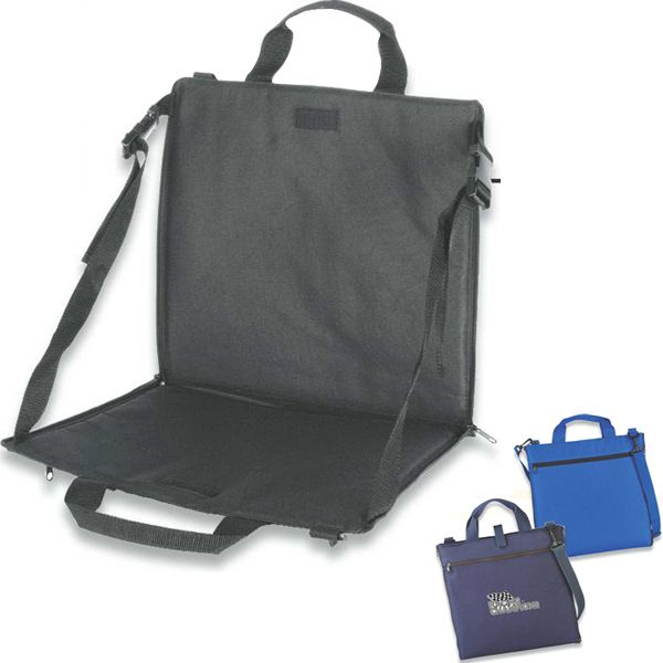 Superb Folding Stadium Seat Cushion Converts To A Tote Bag And Ibusinesslaw Wood Chair Design Ideas Ibusinesslaworg