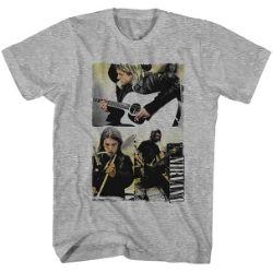 Nirvana Photo Collage T-shirt
