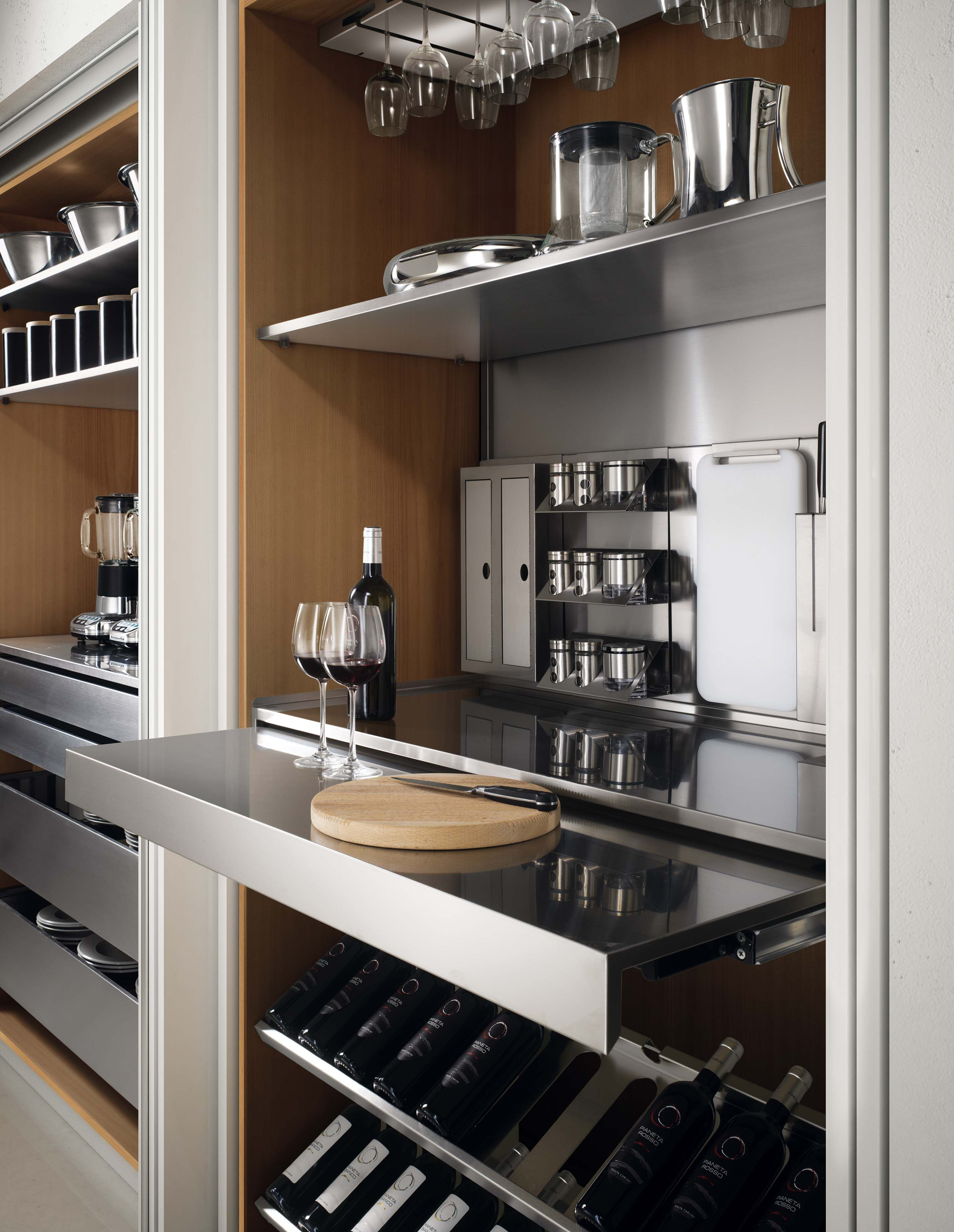 Appliances And Bar Cabinet