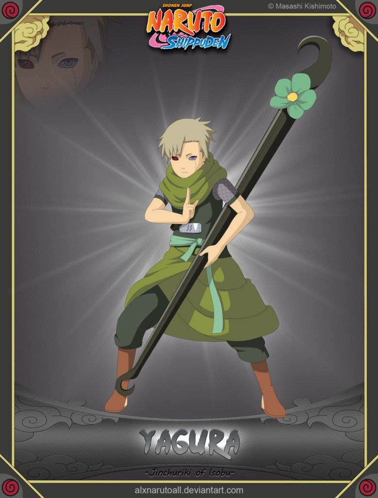 Yagura -Jinchuriki of Isobu- | Anime naruto, Naruto art ...