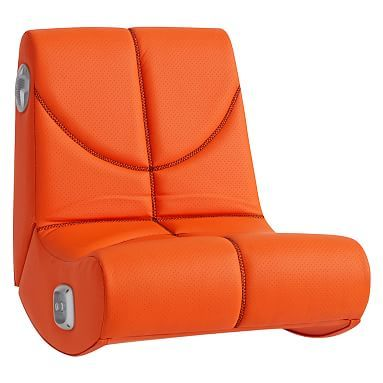 NBA(C) Mini Rocker Speaker Chair, Orange