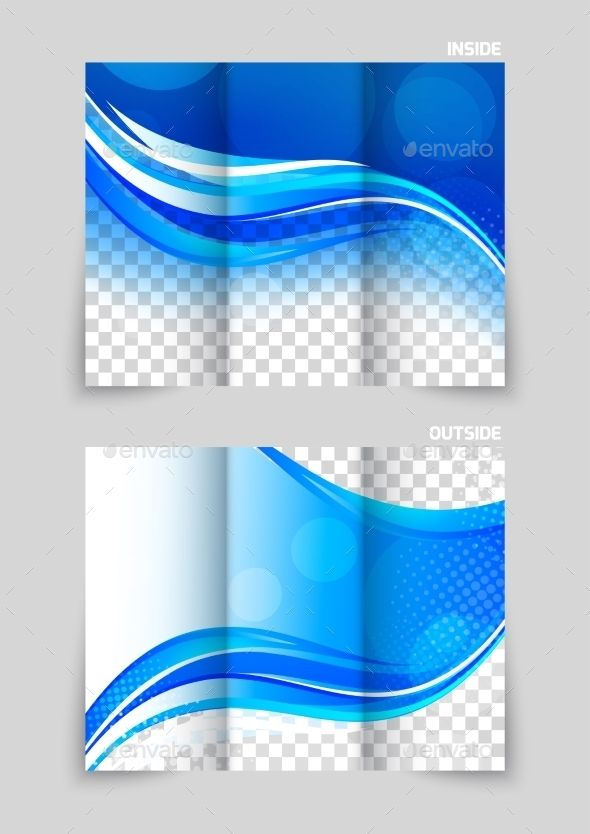 TriFold Brochure Template Design  Brochure Template Tri Fold