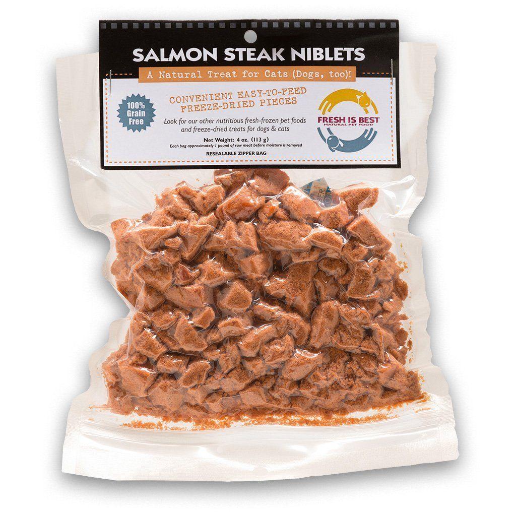 Fresh is best freeze dried raw alaskan salmon treats for