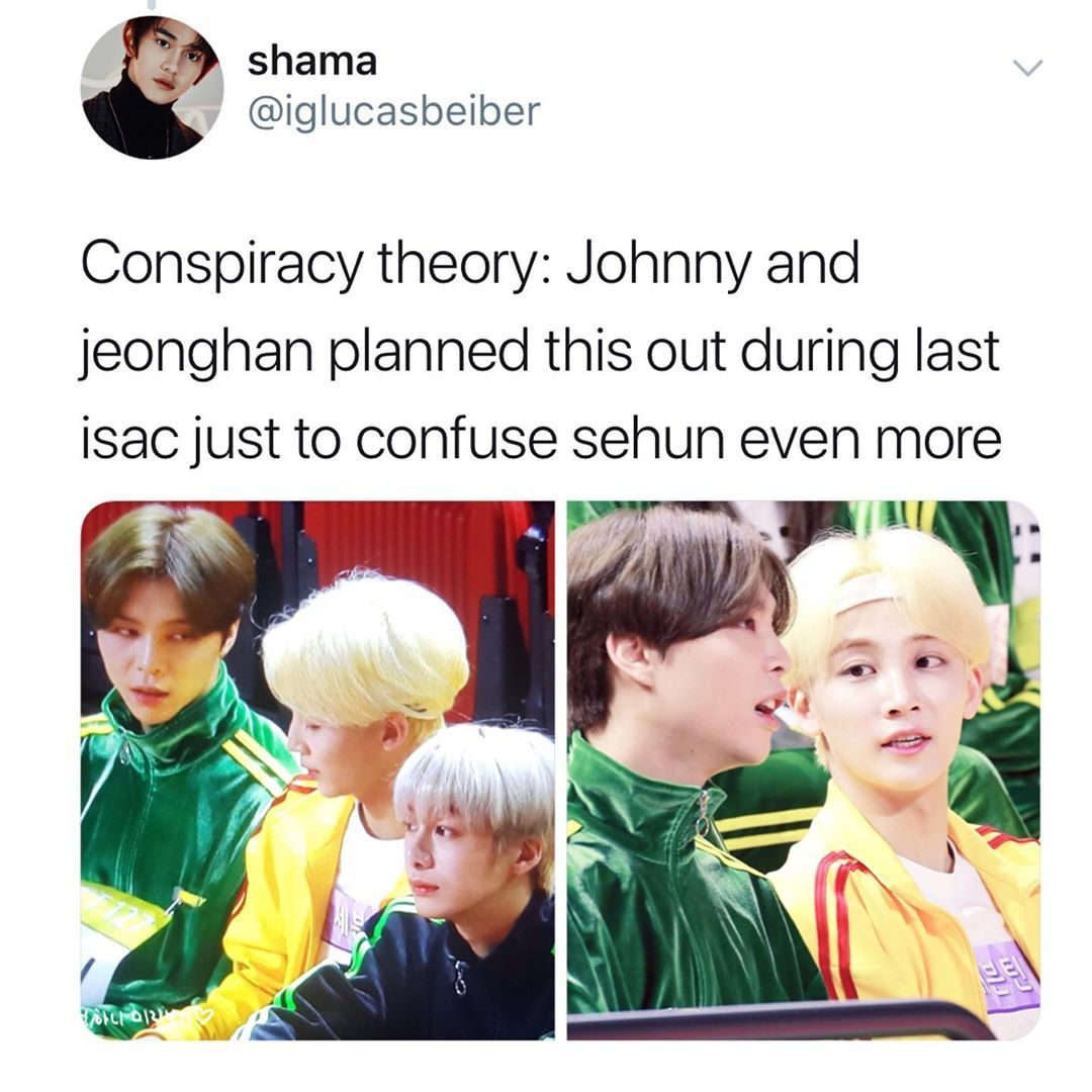 I Can T Get Over Johnny S Long Hair Nct Memes Lucasbeiber