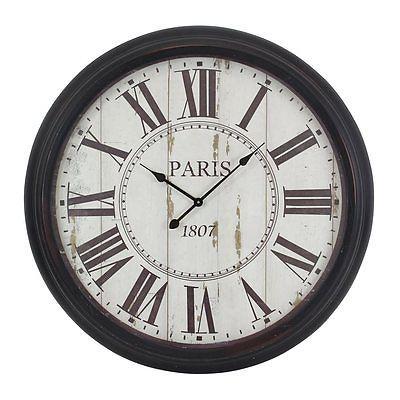 Wall Clocks 20561: Aspire Home Accents 5314 Black Constance Round Wall  Clock  U003e BUY