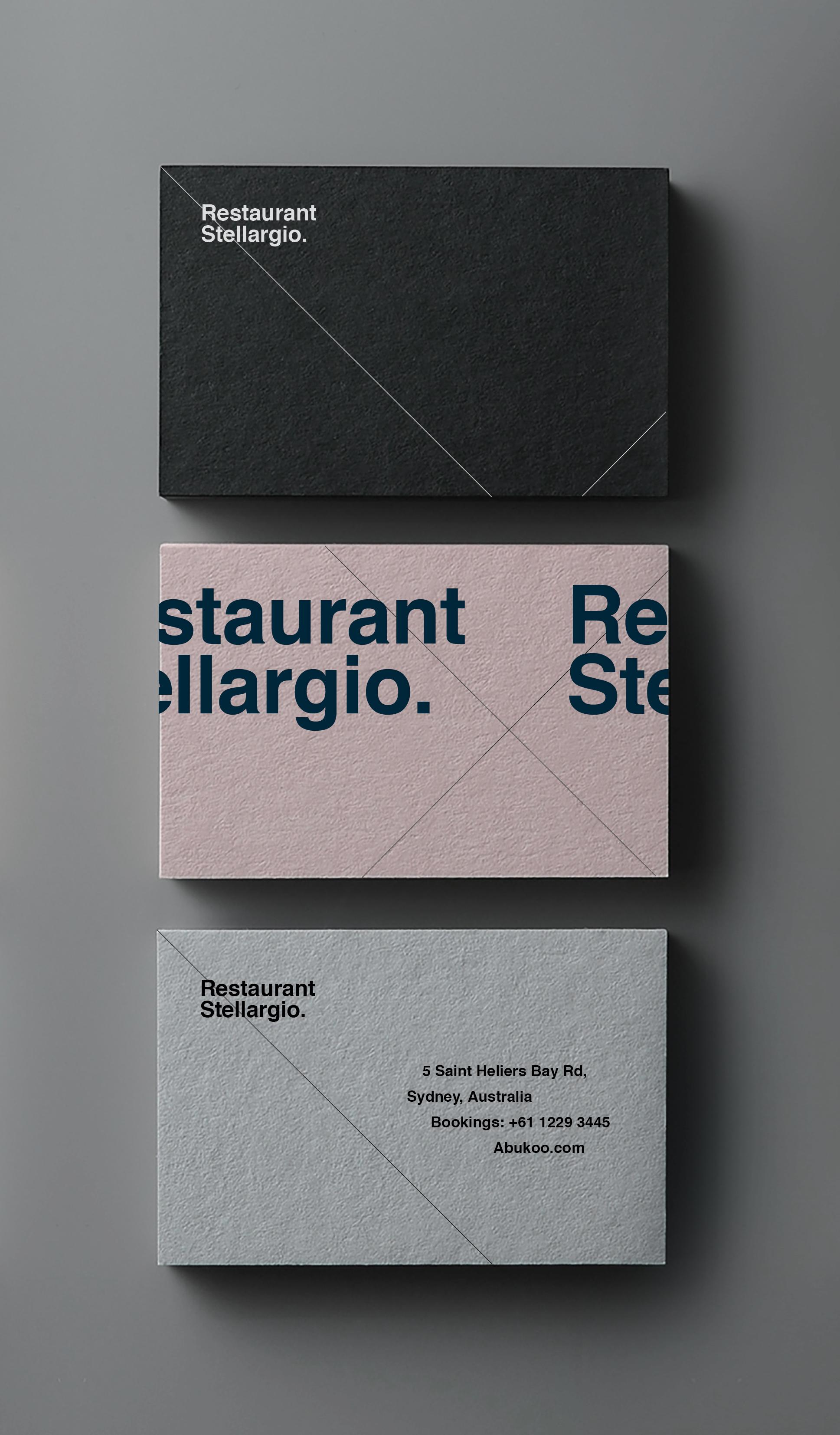 Business Card Design Restaurant Branding Graphic Design Business Card Business Cards Creative Business Card Template Design