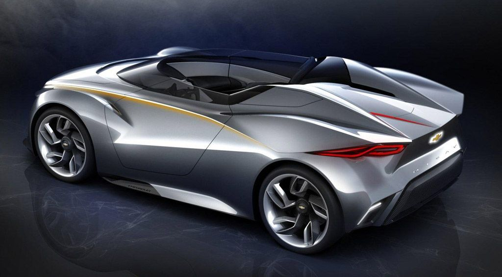 Chevy Miray Hybrid Muscle Car Of The Future Concept Hybrid