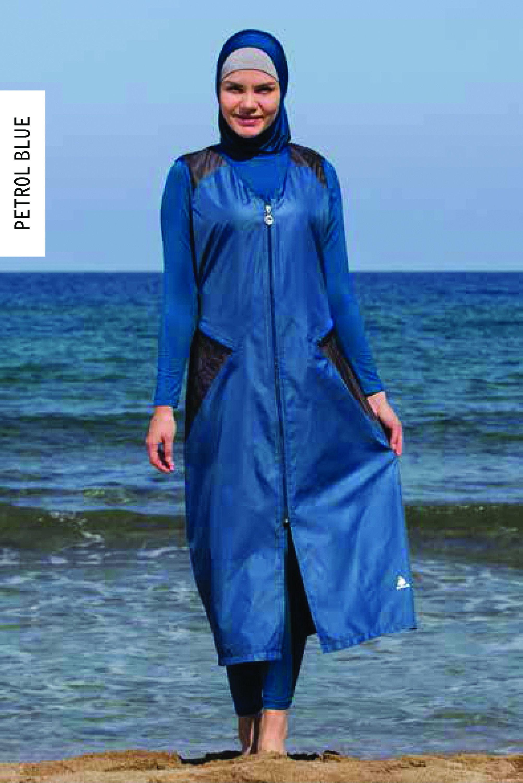 c78689f2c90dd Introducing 2017 Adabkini Sila, Modest swimwear for women. Adabkini Sila  Women's Swimsuit Full Cover Hijab Burkini Islamic, Hindu, Arab, Jewish, ...