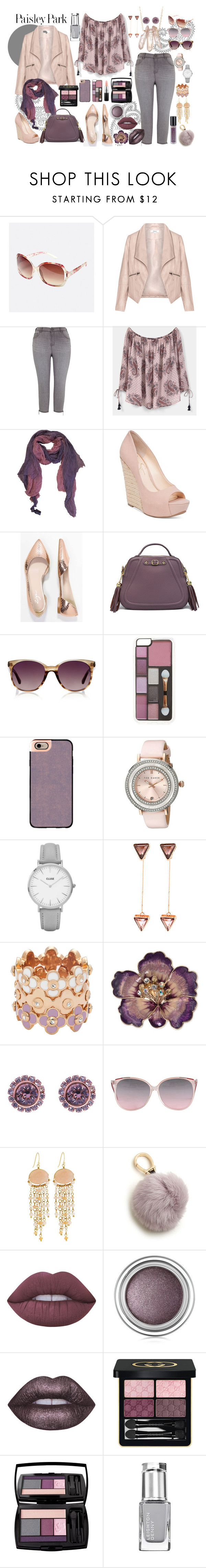 """""""Plus size fashion - Paisley Park"""" by angela-coyner on Polyvore featuring Avenue, Zizzi, Melissa McCarthy Seven7, MANGO, Zadig & Voltaire, Jessica Simpson, Zign, Linda Farrow Luxe, Zero Gravity and Casetify"""