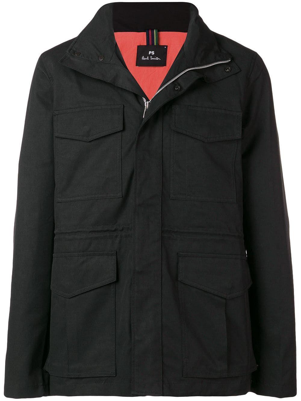 Paul Jacket Ps Black Smith Pocket Flap By 5nn10zg