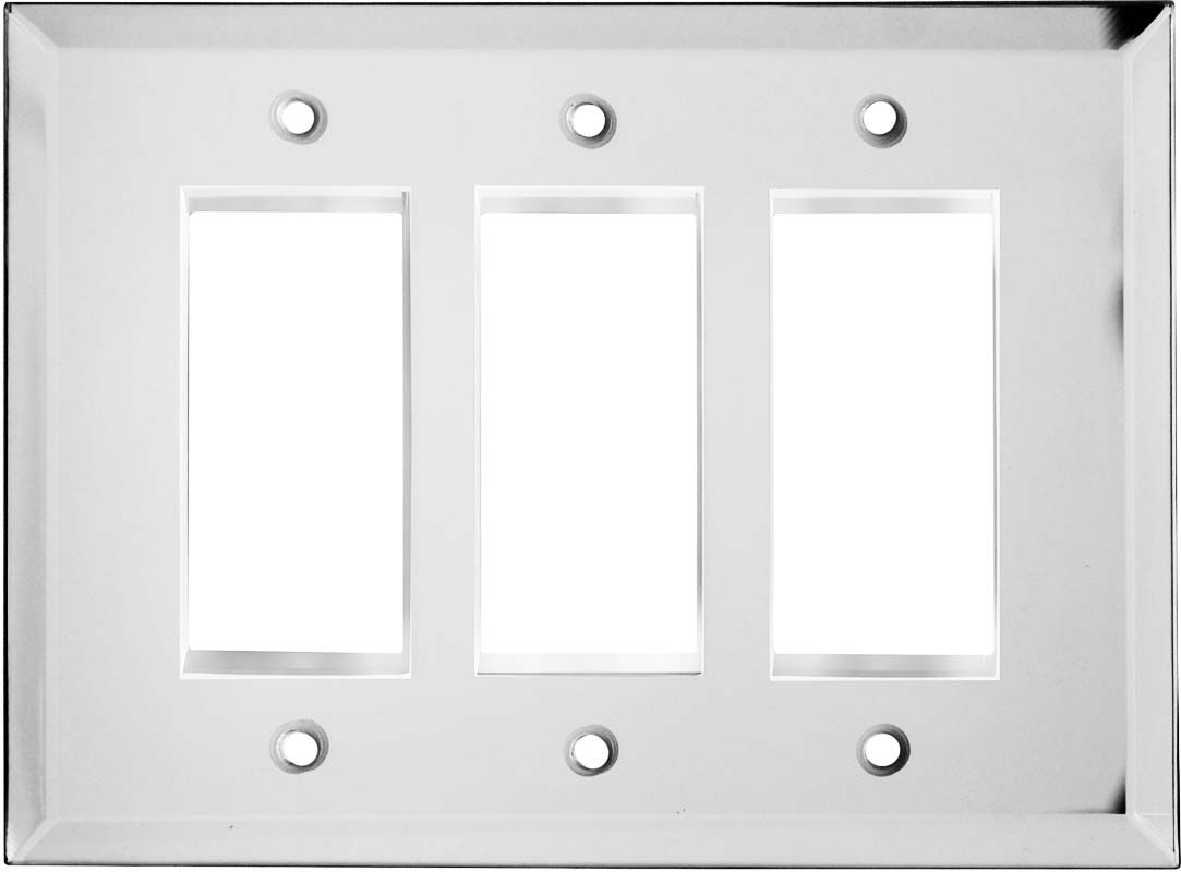 Glass Mirror Light Switch Plates, Outlet Covers, Wallplates ...
