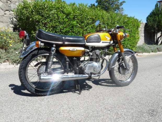 honda cb 125 k4 1974 tr s bon tat motos alpes maritimes voir pinterest. Black Bedroom Furniture Sets. Home Design Ideas