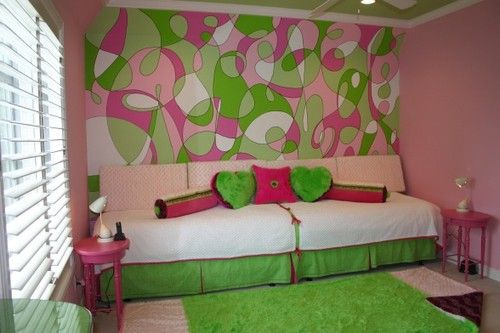 I want to do this for my daughters room.. Just the wall