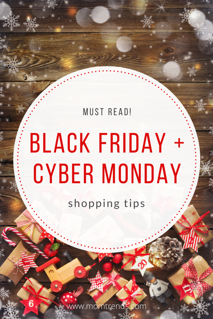 The best tips for Black Friday and Cyber Monday. #shoppingtips #blackfriday #cybermonday