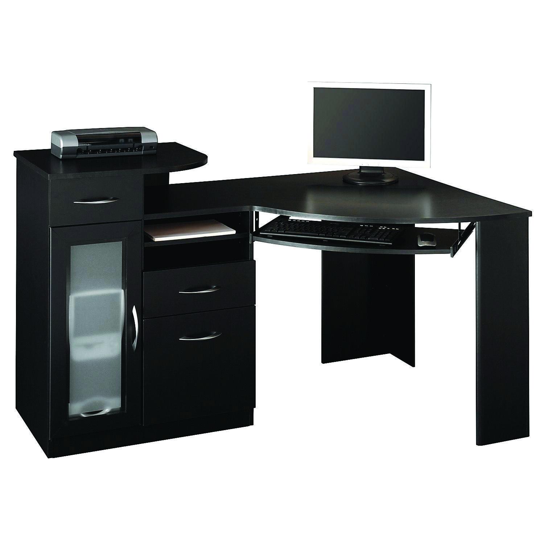 17 Diy Corner Desk Ideas To Build For Your Office Black Corner