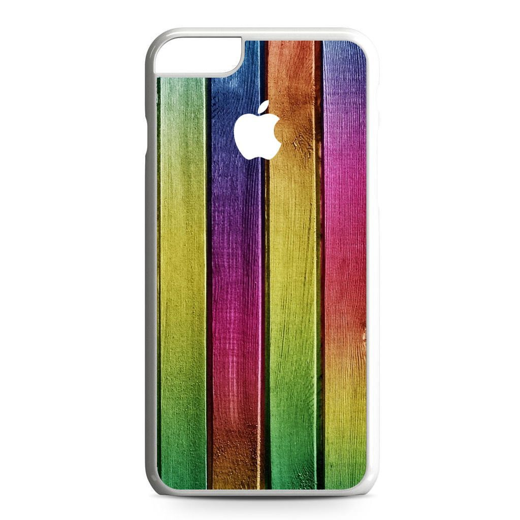 Colorful Wood Background iPhone 6 Plus Case
