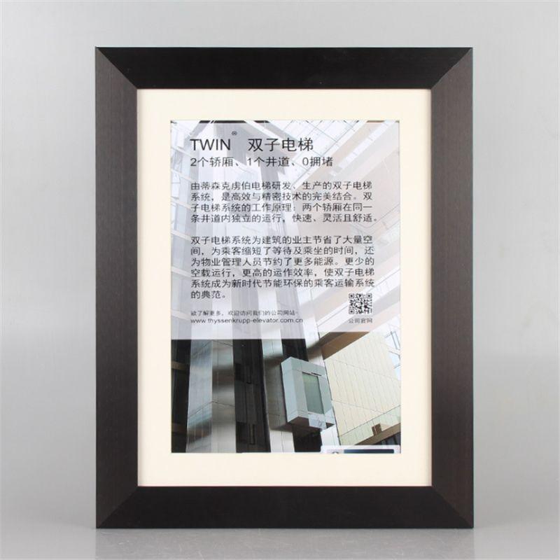 60*90CM Painting Frame Aluminum Alloy Decorative Art Frame Moulding ...