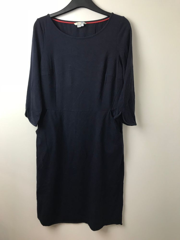 0bbf1d5196 PRELOVED BODEN 12R NAVY J0031 TUNIC DRESS  fashion  clothing  shoes   accessories