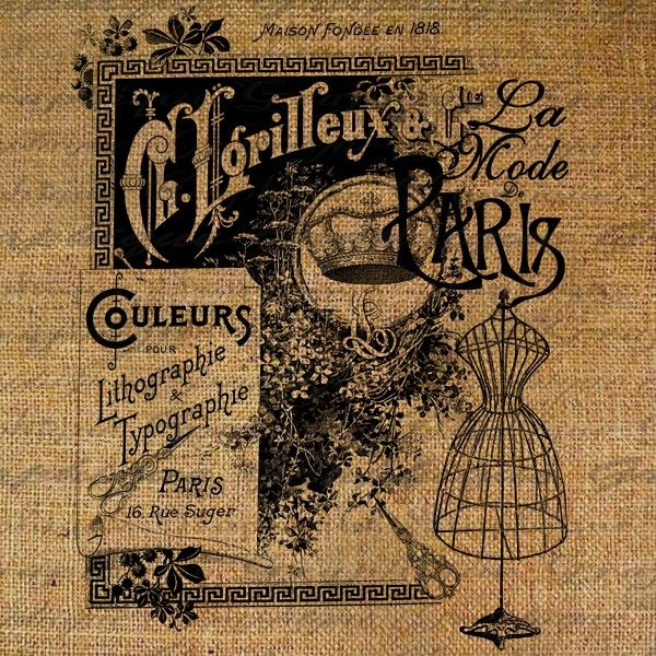 Free Vintage French Graphics