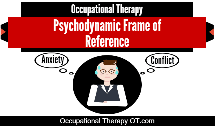 The Psychodynamic Frame Of Reference In Occupational Therapy Is Based On The Theories Of Freud These Theor Occupational Therapy Therapy Therapeutic Activities