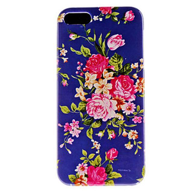 Cover iPhone 5/5S Modello Floreale - Rigida