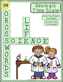 Geologic Time Scale Crossword Puzzle Mytptstore Pinterest Life