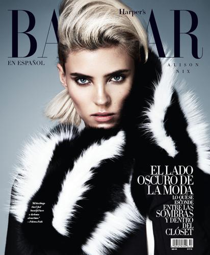 Harper's Bazaar Spain October 2013 | Alison Nix
